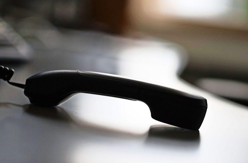 Zahlreiche Senioren haben am Mittwoch Anrufe von Trickbetrügern bekommen. Foto: dpa