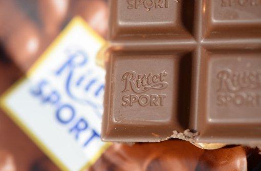 Rubel-Verfall setzt Ritter Sport zu