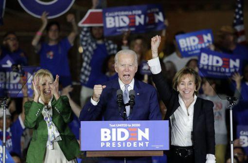 Joe Biden auf der Überholspur
