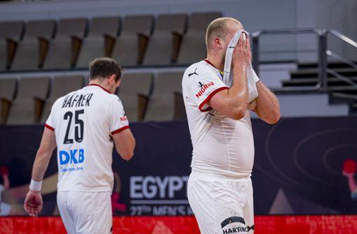 Deutsche Handballer verpassen Viertelfinale vorzeitig