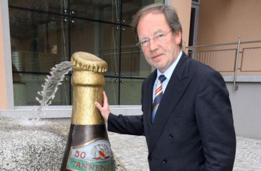 Die landeseigene Brauerei Rothaus wird den Vertrag mit dem schwer erkrankten Vorstandschef Thomas Schäuble (64) auflösen und die Stelle ausschreiben. Foto: dpa