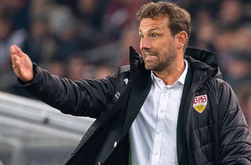 VfB-Coach Markus Weinzierl vor besonderem Duell