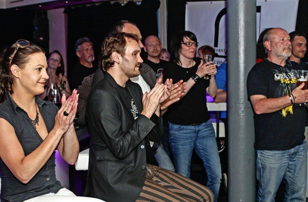 Dem Publikum im Glashouse gefällt der Sound. Foto: factum/Bach