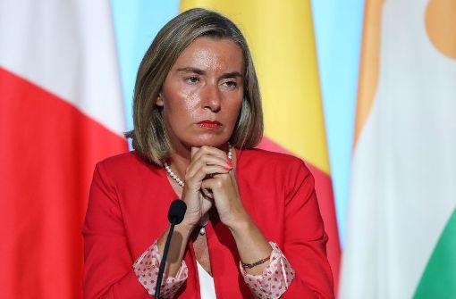 EU-Außenbeauftragte für neue Nordkorea-Sanktionen
