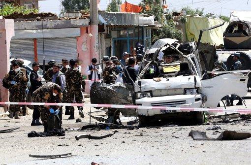 Elf Tote bei Selbstmordanschlag auf Justizangestellte