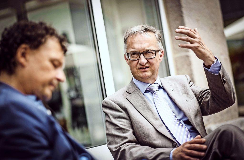 Will neue Wege gehen: Stadtdekan Sörren Schwesig Foto: Lichtgut/Leif Piechowski