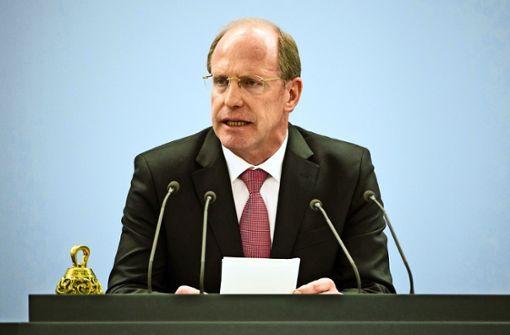 Wilfried Klenk  will nicht mehr antreten