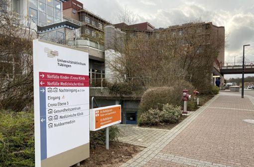 Ein Coronavirus-Patient ist Oberarzt am Klinikum