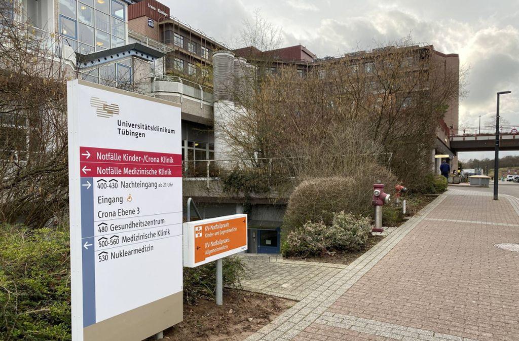 Das Universitätsklinikum in Tübingen behandelt zwei Patienten, die am neuartigen Virus erkrankt sind. Foto: 7aktuell.de/Alexander Hald