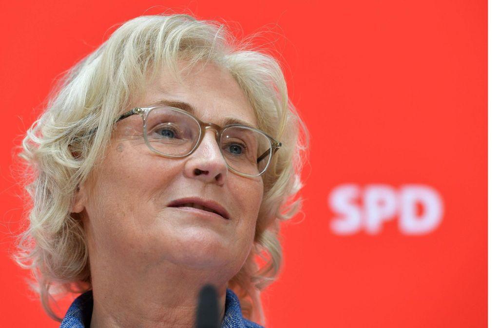 Christine Lambrecht ist gebürtige Mannheimerin. Foto: AFP