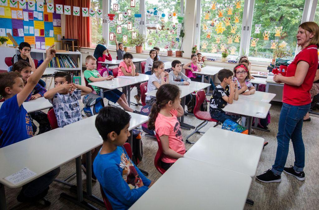 Nach einer Studie haben die  Grundschulen in Baden-Württemberg schlecht abgeschnitten. Foto: dpa