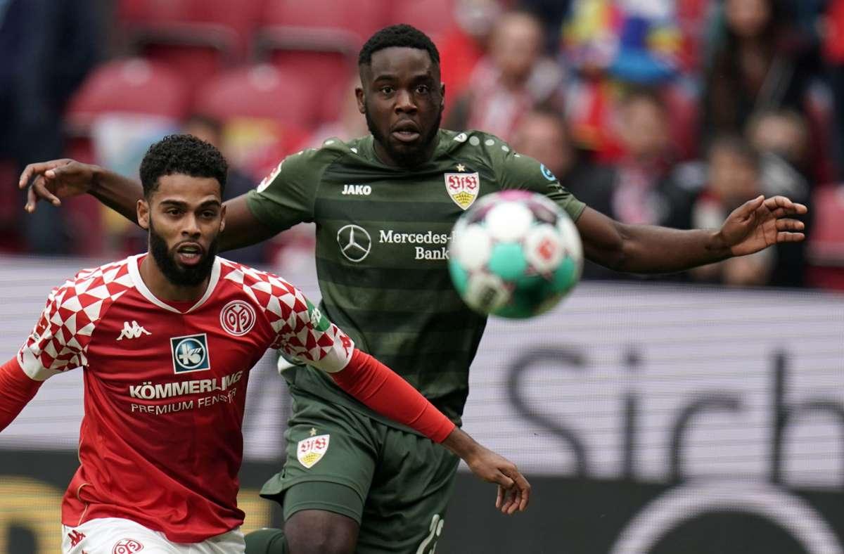 Der VfB Stuttgart überzeugte gegen Mainz: Die Fans würdigen die gute Leistung ihres Teams. Foto: dpa/Thomas Frey