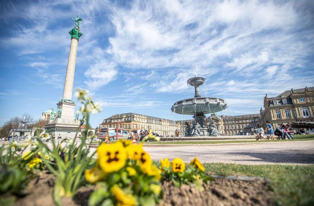 Am Wochenende werden sommerliche Temperaturen in Stuttgart erwartet. Foto: 7aktuell.de/Simon Adomat