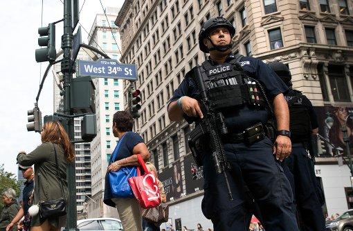 Bombenanschlag in Manhattan gibt Rätsel auf