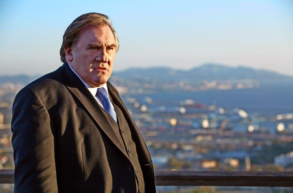 """Ein Mann und seine Stadt: Gérard Depardieu in der Netflix-Serie """"Marseille"""" Foto: David Koskas/Netflix"""