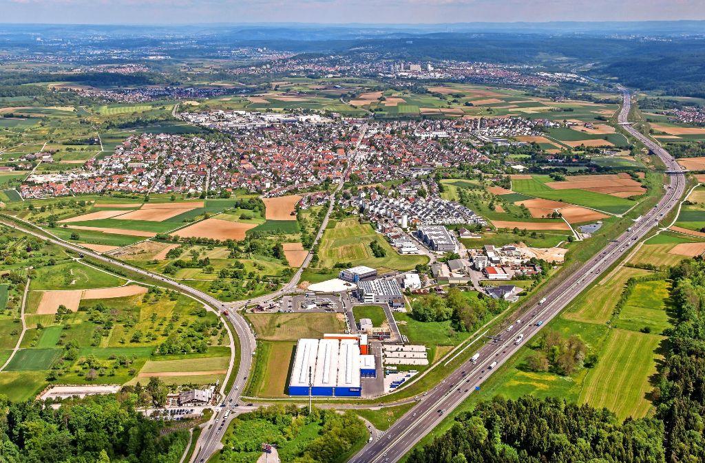 Die junge Stadt Rutesheim ist auf Wachstum programmiert. Foto: Holger Leicht