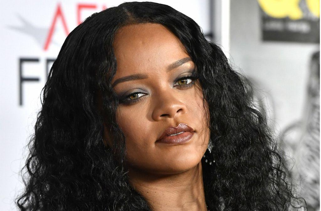 """Popsängerin Rihanna erschien zur  Premiere von """"Queen and Slim"""" ins TCL Chinese Theatre in Hollywood. Mit der Regisseurin des Films hat sie schon einige Musikvideos gedreht. Foto: AFP/Frazer Harrison"""
