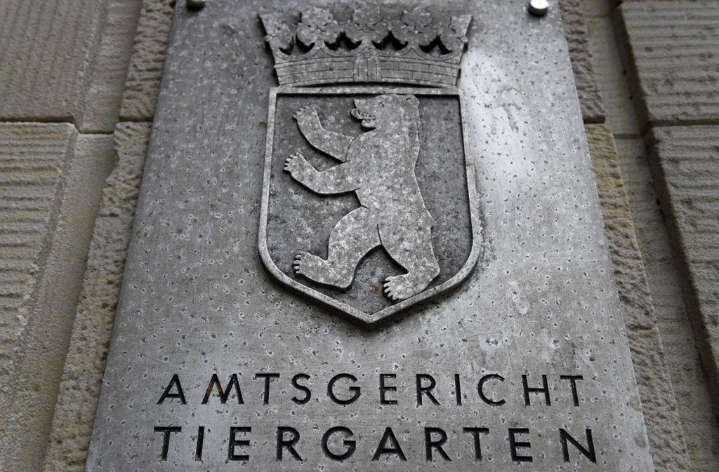 Das Amtsgericht Tiergarten sprach den Angeklagten frei. Foto: dpa/Sven Braun