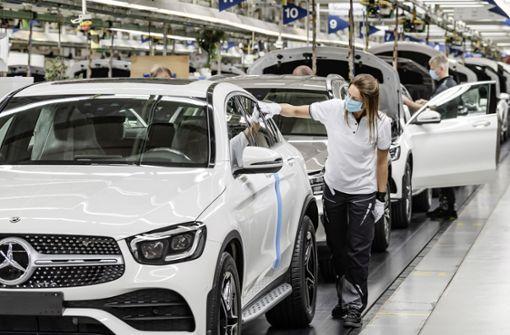 Kurzarbeit bei Daimler
