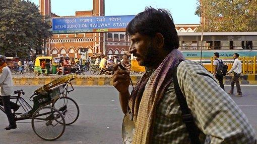 """Im Eröffnungsfilm """"Siddharth"""" sucht ein Vater (Rajesh Tailang) seinen bei der Fabrikarbeit verschwundenen Sohn. Foto: Festival"""