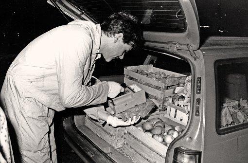 Mai 1986 - die radioaktive Wolke erreicht Stuttgart