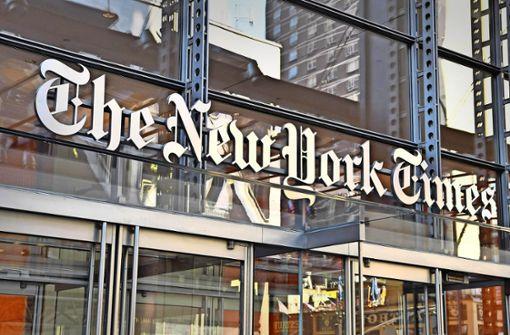 Wenn Donald Trump bei der New York Times anruft