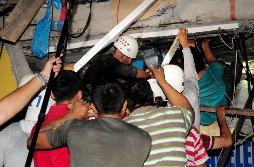 Dutzende Tote in Ecuador