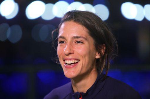 Tennis-Profi als ZDF-Sportmoderatorin im Gespräch