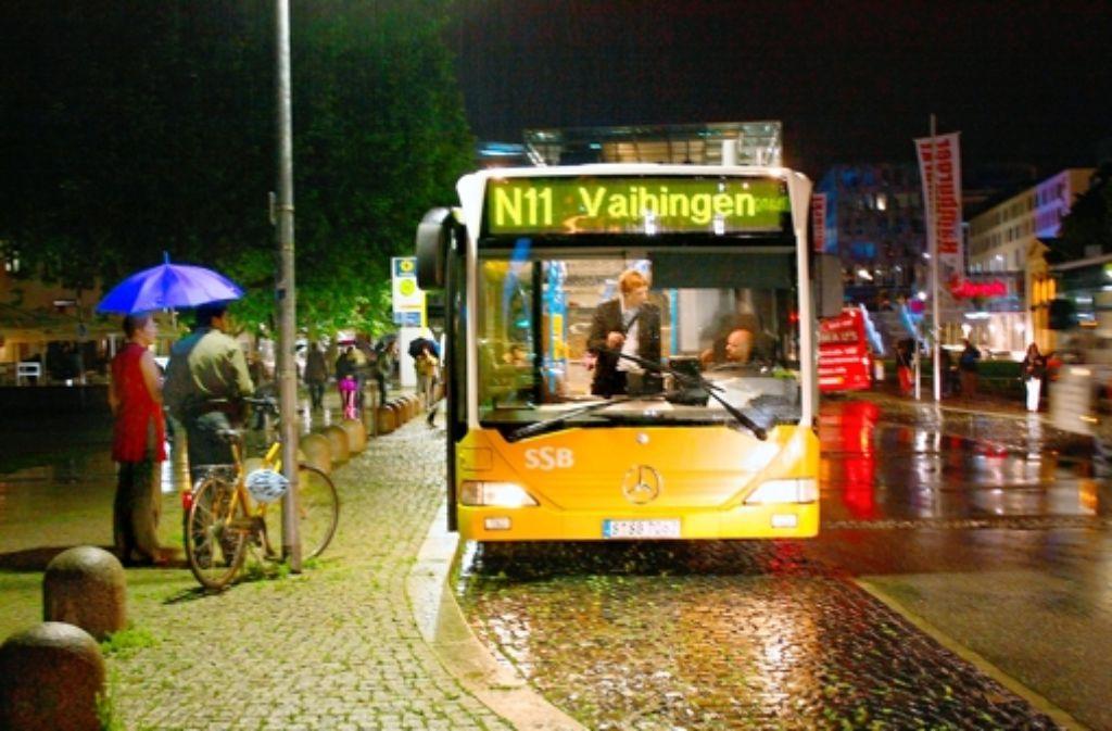 Die Degerlocher Jugendräte wollen den Nachtbus nicht aus dem Blick verlieren. auch wenn es den Jugendrat mangels Kandidaten von 2014 an nicht mehr gibt. Foto: Archiv Alexandra Kratz