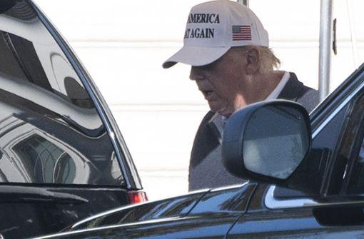 Trump verweigert sich –  vorerst?