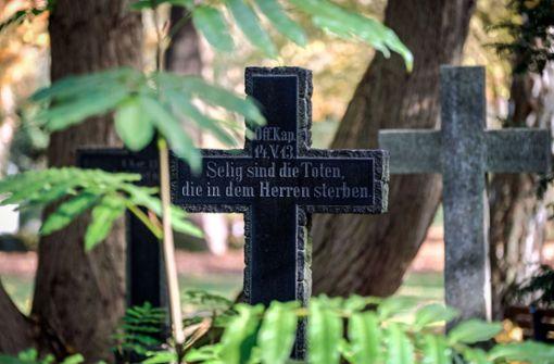 Das klassische Begräbnis stirbt