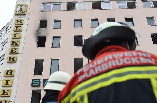 Polizei nimmt Bewohnerin wegen Brandstiftung fest
