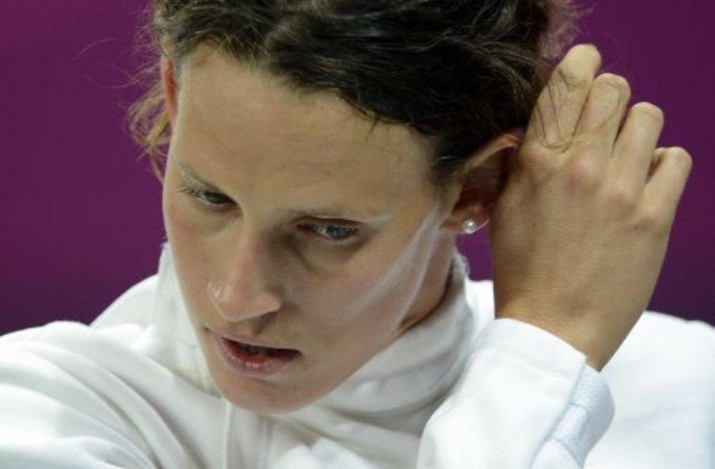 Schade! Lena Schöneborn hat bei den Olympischen Spielen eine Medaille im Modernen Fünfkampf klar verpasst. Die 26-Jährige belegte nach dem abschließenden Combined-Wettbewerb aus Crosslaufund Schießen Platz 15.  Foto: dpa