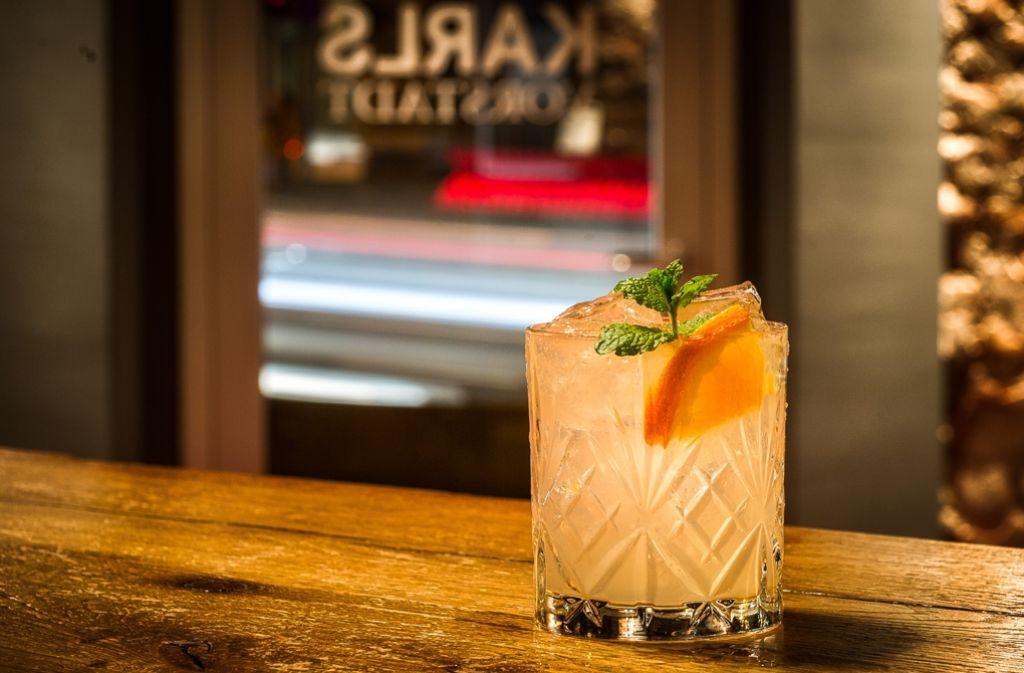 Der fruchtige Paloma basiert auf weißem Tequila – und ist die Empfehlung der Bar Karlsvorstadt. Foto: Barac