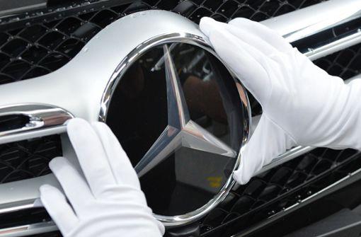 Mercedes erneut mit Rekordabsatz