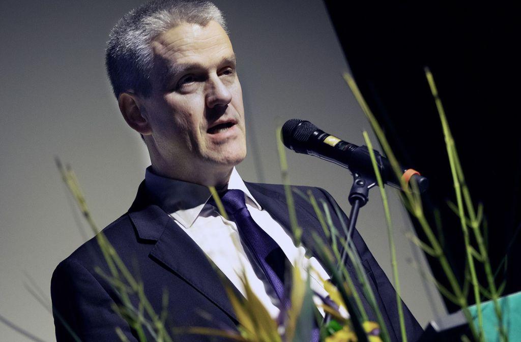 Im Jahr 2005 ist Christof Bolay zum ersten Mal zum Oberbürgermeister von Ostfildern gewählt worden. Foto: Pressefoto H. Rudel