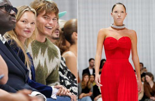 Auf der Londoner Fashion Week ist Mama nur Zuschauerin