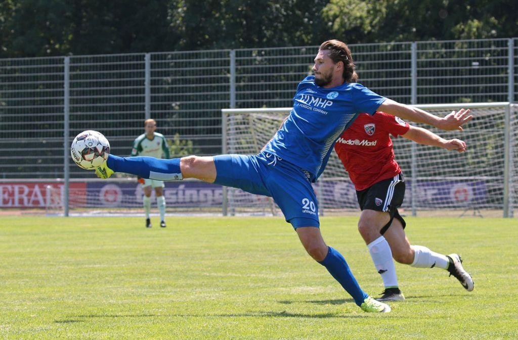 Mijo Tunjić soll die Stuttgarter Kickers wieder nach oben schießen. Foto: Pressefoto Baumann