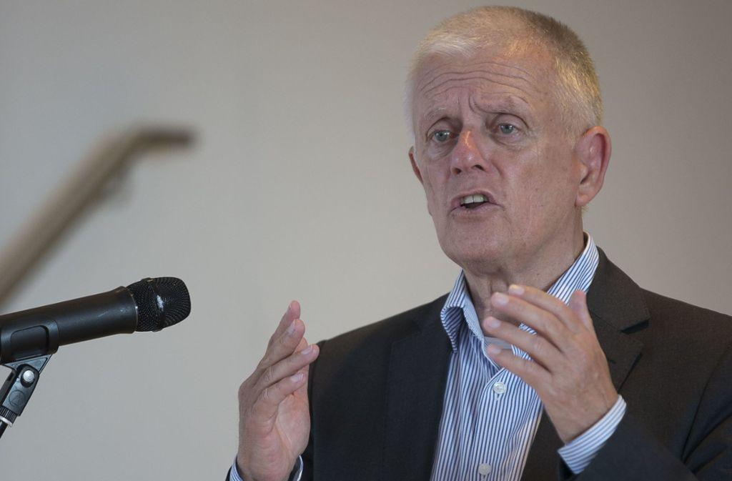 Kann als dritter Mann beim Deutschen Städtetag für den kommunalen Spitzenverband reden: Stuttgarts OB Fritz Kuhn. Foto: Lichtgut