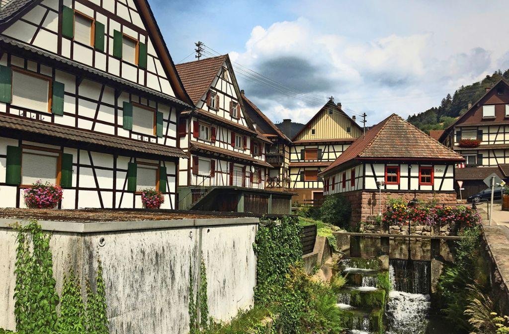 Reichental im Schwarzwald ist malerisch, doch die Ortsmitte ist wie ausgestorben. Foto: Buhl