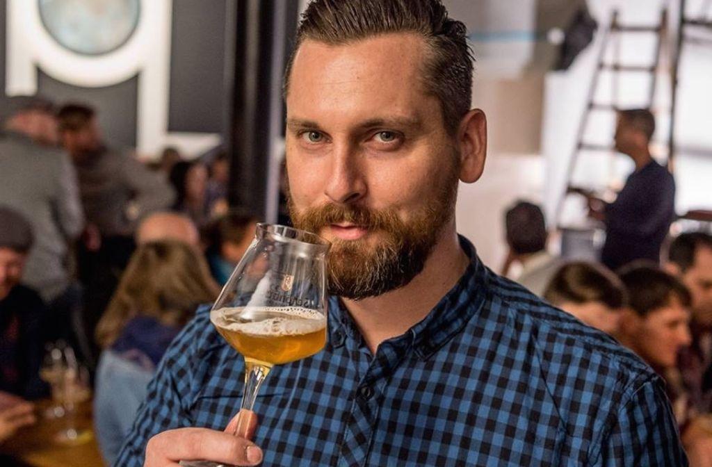 Erlebt viel, wenn die Nacht lang ist: Bier-Guru Thorsten Schwämmle. Foto: privat