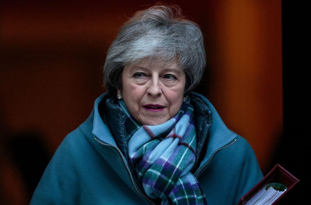 Dir britische Premierministerin lässt sich nicht unterkriegen und will weiterhin mit der EU über einen neuen Brexit-Deal handeln. Foto: Getty Images Europe