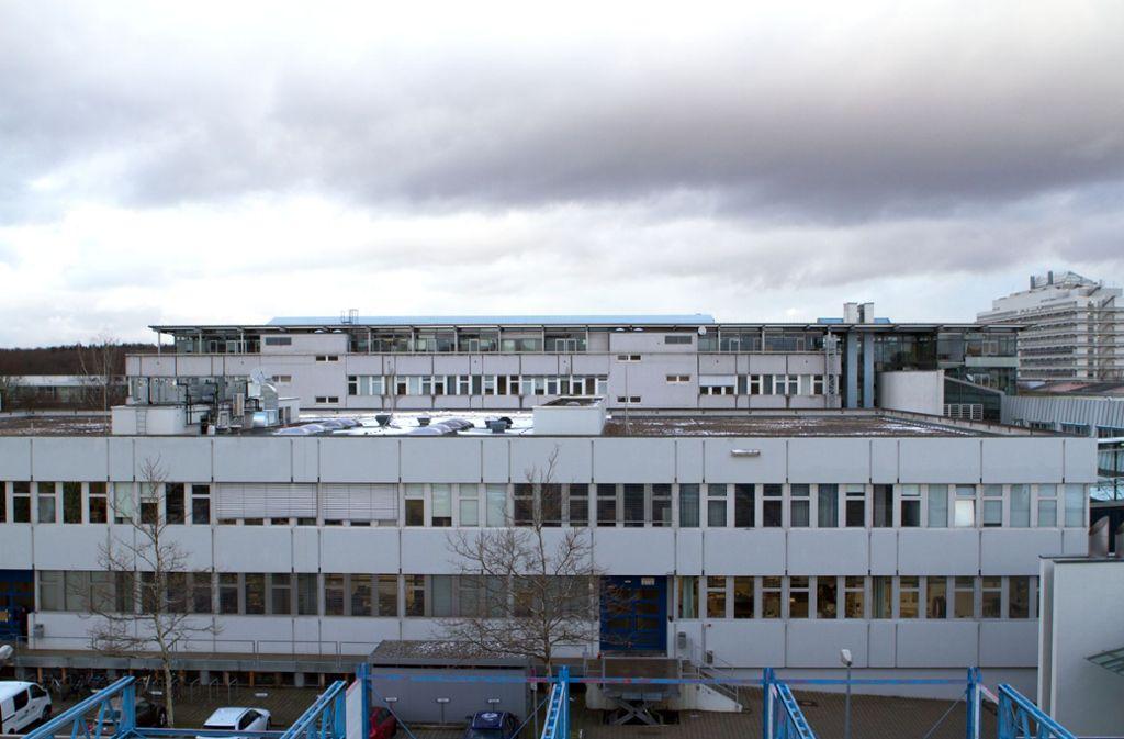 Die HdM will ein zweites Stockwerk auf den Technikbau setzen, Foto: HdM Stuttgart/Spieß