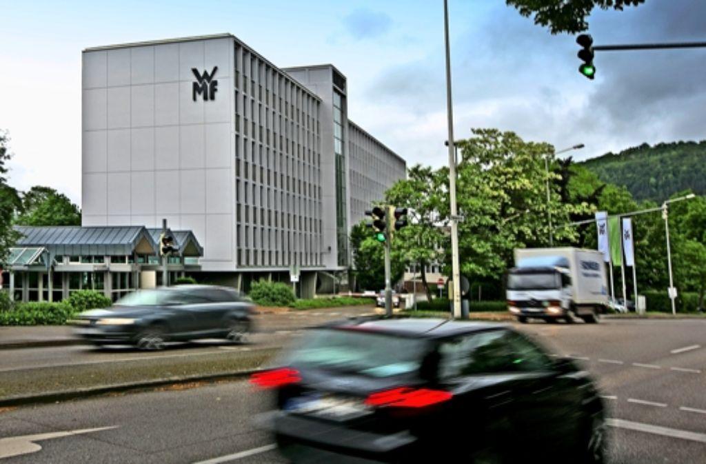Bei mWMF-Stammsitz in Geislingen sind mehr als 500 Stellen in Gefahr. Foto: Horst Rudel