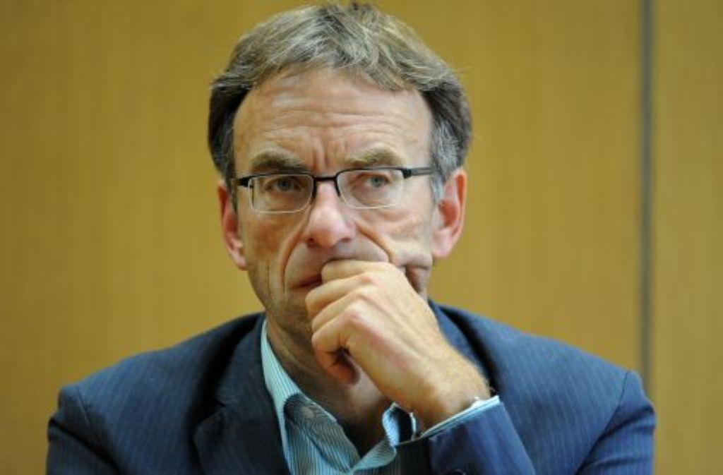 Werner Wölfle wirds nicht. Foto: dpa