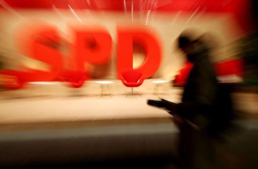Die SPD steht mit dem Rücken zur Wand