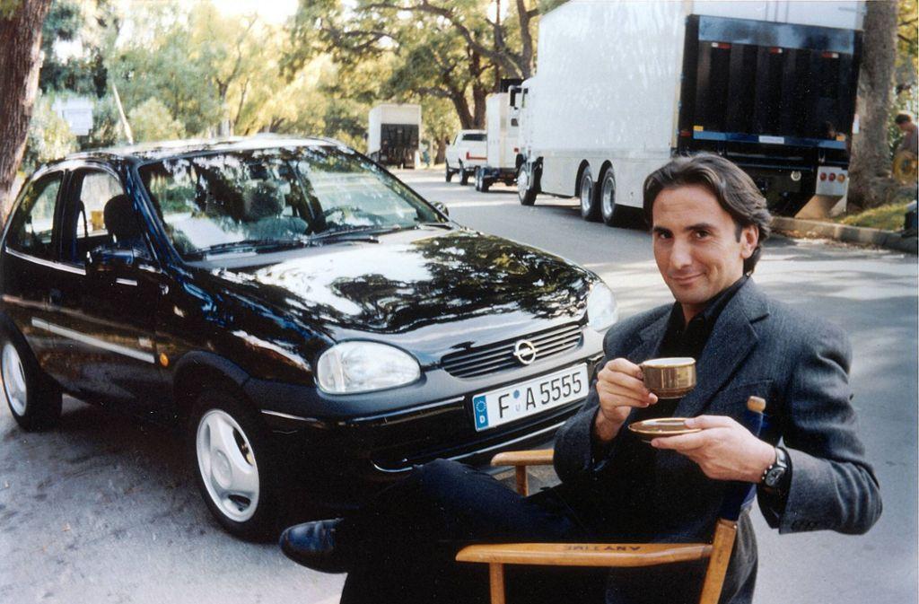 Bruno Maccallini ließ als Herr Angelo in der Nescafé-Werbung Frauenherzen höherschlagen. Foto: imago stock&peopl
