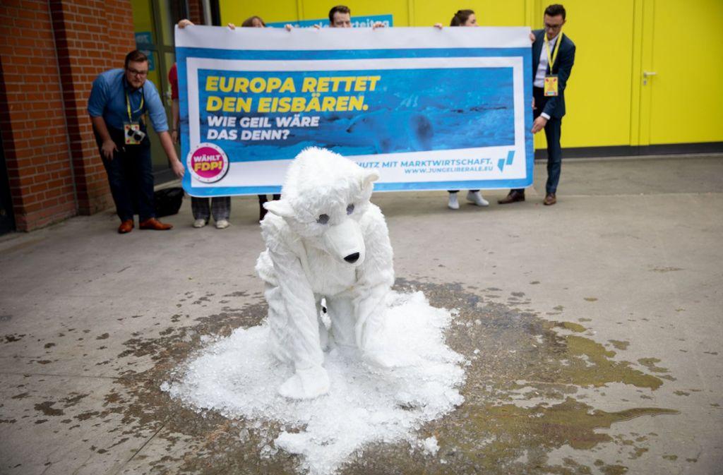 Die FDP hat ihre klimapolitischen Ziele skizziert. Foto: dpa