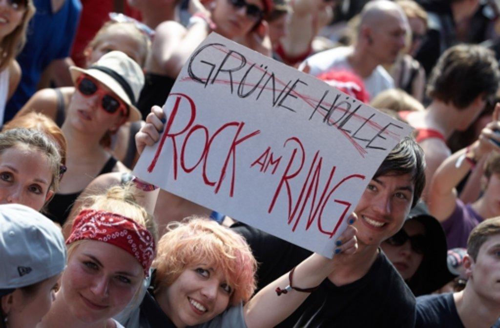 Qual der Wahl für Festivalbesucher: Rock am Ring oder Grüne Hölle? Foto: dpa