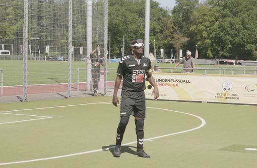 Der blinde Fußball-Nationalspieler aus Stuttgart